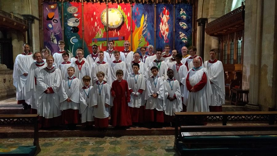 Choir at Chichester Cathedral 2018